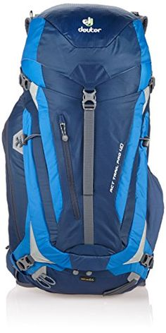 Deuter ACT Trail Pro 40 Backpack  MidnightOcean ** Click image for more details.