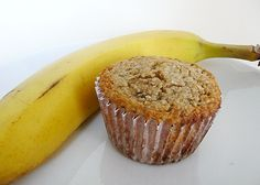 Banana-Nut Oat Bran Muffins | Two Peas & Their Pod