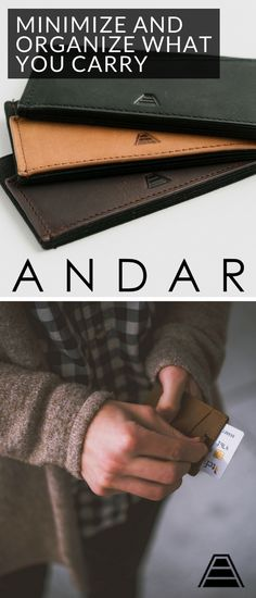 4c0ffa30c4dfa7 Andar Wallets gives you a high quality, full grain leather wallet protected  with RFID anti
