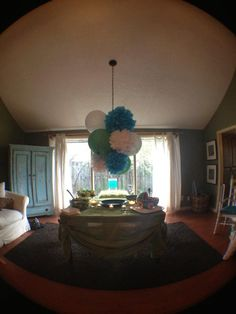 Items similar to tissue Pom Poms- Gender Reveal on Etsy Tissue Pom Poms, Throw A Party, Baby Time, Pretty Cool, Gender Reveal, Trending Outfits, Baby Showers, Garland, Party Ideas