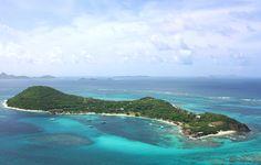 Petit st vincent caribbean island