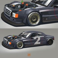 Finally completed my drift machine. Of course proper for the power plant. Corsa Wind, Street Racing Cars, Car Illustration, Mercedes Benz Cars, Car Posters, Car Drawings, Cute Cars, Modified Cars, Automotive Design