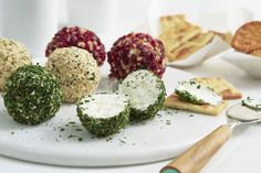 Use PHILADELPHIA Cream Cheese to make 3 delicious cheese balls - perfect for entertaining.