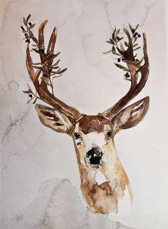 deer water paint.