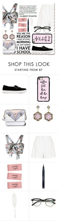 """""""Без названия #38"""" by tata74 ❤ liked on Polyvore featuring Charlotte Olympia, Casetify, GUESS, Cathy Waterman, Zimmermann, River Island, Christian Dior and Maison Margiela"""