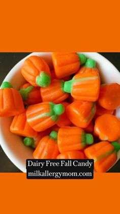 Dairy Free Snacks, Fall Candy, Allergy Free Recipes, Halloween Candy, Food Allergies, Free Food, Apps, Sweets, Stuffed Peppers