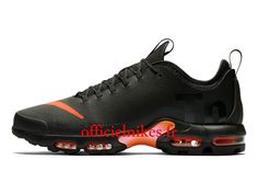 cheap for discount c209d 0f71c Nike Air Max Plus TN Ultra SE Noir Rouge AQ0242-001 Chaussures Officiel Nike