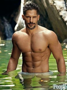 Joe Manganiello is reprising his role as Big Dick Richie in the sequel of Magic Mike XXL with Channing Tatum. Let's take a look at Joe Manganiello diet and workout: Joe Manganiello Diet, Joe Manganiello Shirtless, Joe Manganiello Magic Mike, Joe Manganiello True Blood, Joe Maganiello, Hot Guys, Hommes Sexy, Raining Men, People Magazine