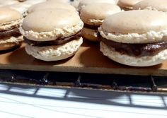 Macarons, Healthy Desserts, Dessert Recipes, Pavlova, Winter Food, Cakes And More, Nutella, Deserts, Food And Drink