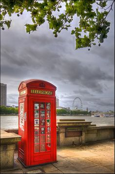 Classic London Phone Box. <3