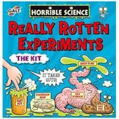 The Galt Horrible Science Really Rotten Experiments set is perfect for budding young scientists.