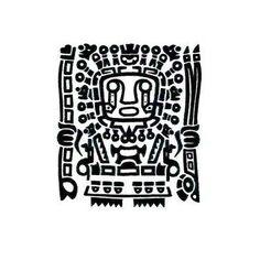 "Képtalálat a következőre: ""inca tattoo"" Mayan Symbols, Viking Symbols, Egyptian Symbols, Viking Runes, Ancient Symbols, Wolf Tattoo Design, Wiccan Tattoos, Symbolic Tattoos, Inka Tattoo"