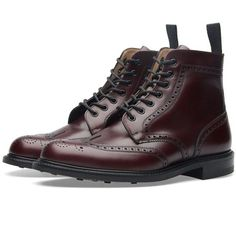 Church's Caldecott Boot (730 AUD) ❤ liked on Polyvore featuring men's fashion, men's shoes and men's boots