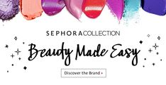 Learn more about the best SEPHORA COLLECTION products at Sephora. Unleash your inner artist and express yourself with these Sephora brand favourites now. Best Sephora Products, Sephora Brands, Sale Banner, Make It Simple, Skin Care, Creative, Inspiration, Beauty, Digital