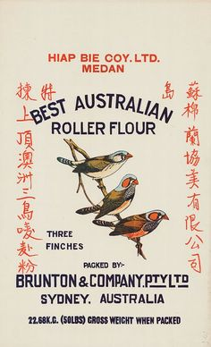 Letterology: Art of the Flour Sack