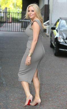 Carol Vorderman rules herself out of Celebrity Big Brother Curvy Women Fashion, Girl Fashion, Sexy Older Women, Sexy Women, Beautiful Women Over 50, Carol Vorderman, Hot Country Girls, Girl Celebrities, Gorgeous Blonde