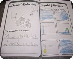 Free solids, liquids and gases booklet