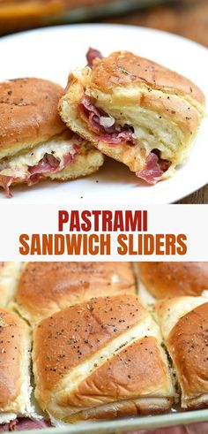 Hot Pastrami Sliders Hot Pastrami Sandwich Sliders with pastrami, sauerkraut, and Thousand Island dressing are hearty, tasty and sure to be a crowd favorite. Perfect for weeknight dinners or party appetizers. Appetizers For A Crowd, Appetizers For Party, Appetizer Recipes, Party Snacks, Yummy Appetizers, Dessert Recipes, Pastrami Sandwich, Mini Sandwiches, Steak Sandwiches