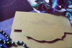 ~ WEDDING INVITATION CARD ~ by Neha Karira, via Behance