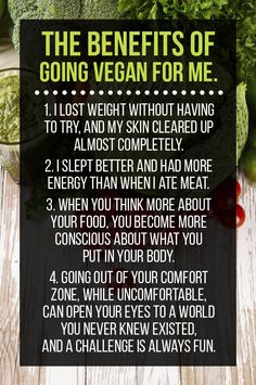 This Is What I Learned Going Vegan For A Month