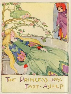 Vintage Fairy Tale Illustration Gifts on Zazzle Sleeping Beauty Art, Classic Fairy Tales, Vintage Fairies, Vintage Children's Books, Vintage Quilts, Vintage Postcards, Fairytale Art, Children's Book Illustration, Book Illustrations
