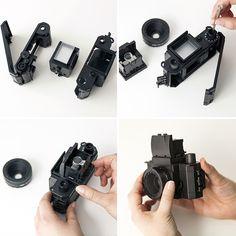 We Tried It: DIY Lomography Camera Kit via Brit + Co.