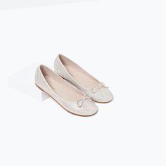 PRINTED BALLERINAS-Shoes-SHOES-GIRL | 4-14 years-KIDS | ZARA United States