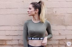 Wildcat clothing: From the gym to a night out - Trigger Dream Cream Walls, Night Out, Style Fashion, Fashion Inspiration, T Shirts For Women, Workout, Casual, How To Wear, Clothes