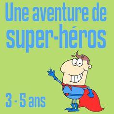 Une aventure de super-héros est une chasse au trésor clef en main à imprimer sur le thème des super-héros pour les enfants de 3 à 5 ans. Pour anniversaire.