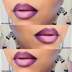 Loving these bomb lips by @glambymeli one word gorgeous go follow and don't forget to tag your pics #themakeupspace