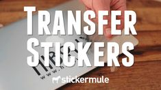 Wistia video thumbnail - Transfer stickers