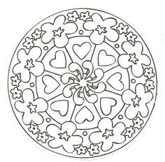 mandalas | Mandalas para pintar gratis - Dibujos para colorear - IMAGIXS                                                                                                                                                                                 Más
