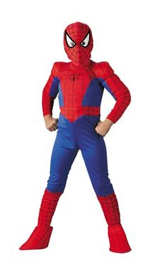 Deluxe Kids Spiderman Costume - Spiderman Costumes