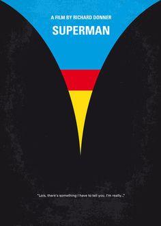 Superman Creativos y minimalistas posters de películas