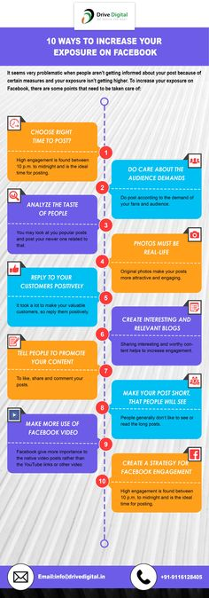These are the Ten Ways which will lead you to know about How To Increase Your Social Exposure On FaceBook