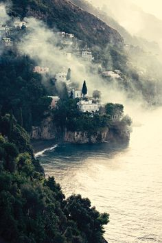 Amalfi Coast, Italy. We went to Capri, Amalfi, Positano and Ravello for our honeymoon.. What a magical, beautiful coastline, with its buildings perched on the high cliffs, quaint cobblestoned Italian towns and the glittering sea stretching beyond