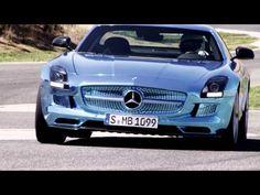 Mercedes-Benz TV: The SLS AMG Coupé Electric Drive