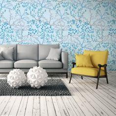 Papel de Parede Adesivo Floral Azul  http://www.stickdecor.com.br/produto/papel-de-parede-adesivo/papel-de-parede-adesivo-floral-azul/