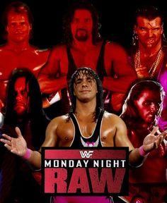 The REAL MONDAY NIGHT RAW Wrestling Posters, Wrestling Divas, Wwf Superstars, Shawn Michaels, Wwe Stuff, Wwe Tna, Wwe Wallpapers, Randy Orton, Monday Night
