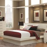 Found it at AllModern - Bay Pier Platform Bed with Rail Seating and Lights