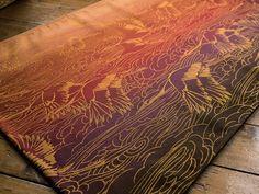 Oscha Slings - Tsurusora Golden Russet Woven Wrap