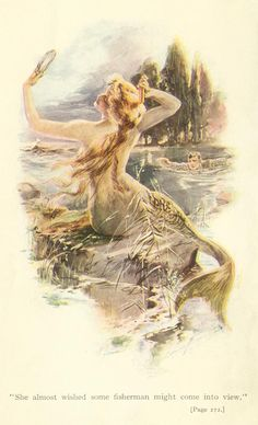 vintage mermaid print                                                                                                                                                                                 More                                                                                                                                                                                 More