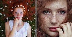 Stunning Redhead Portraits By Maja Topčagić Capture The Spirit Of Summer | Bored Panda
