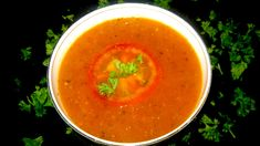This fresh tomato soup recipe is quick and easy to prepare, full of goodness and oh so tasty. It's a wonderful recipe for lovers of vegetarian and vegan food. Fresh Tomato Soup, Tomato Soup Recipes, White Bowl, Wonderful Recipe, Thai Red Curry, Salsa, Vegan Recipes, Vegetarian, Tasty