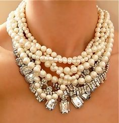 The Style Climber: Tears To The Eyes FAB!!! - Stacked Necklaces