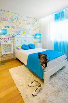 Interdesign Interiores decoração de quarto ROOM