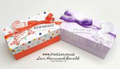 Diy Gift Box, Diy Box, Gift Boxes, Fun Fold Cards, Folded Cards, Purple Zebra, Gift Box Packaging, Craft Videos, Pattern Paper
