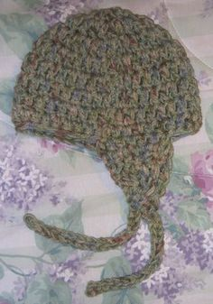 Crochet - super easy hat - added another expansion row and 2 extra rows down for fit using Caron Simply Soft