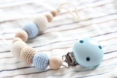 Hey, I found this really awesome Etsy listing at https://www.etsy.com/listing/288487005/new-baby-blue-pacifier-clip-dummy-holder