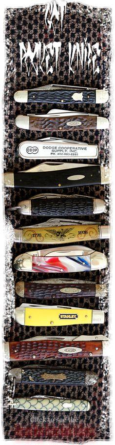 Pocket Knife Collection Vintage and Antique some modern
